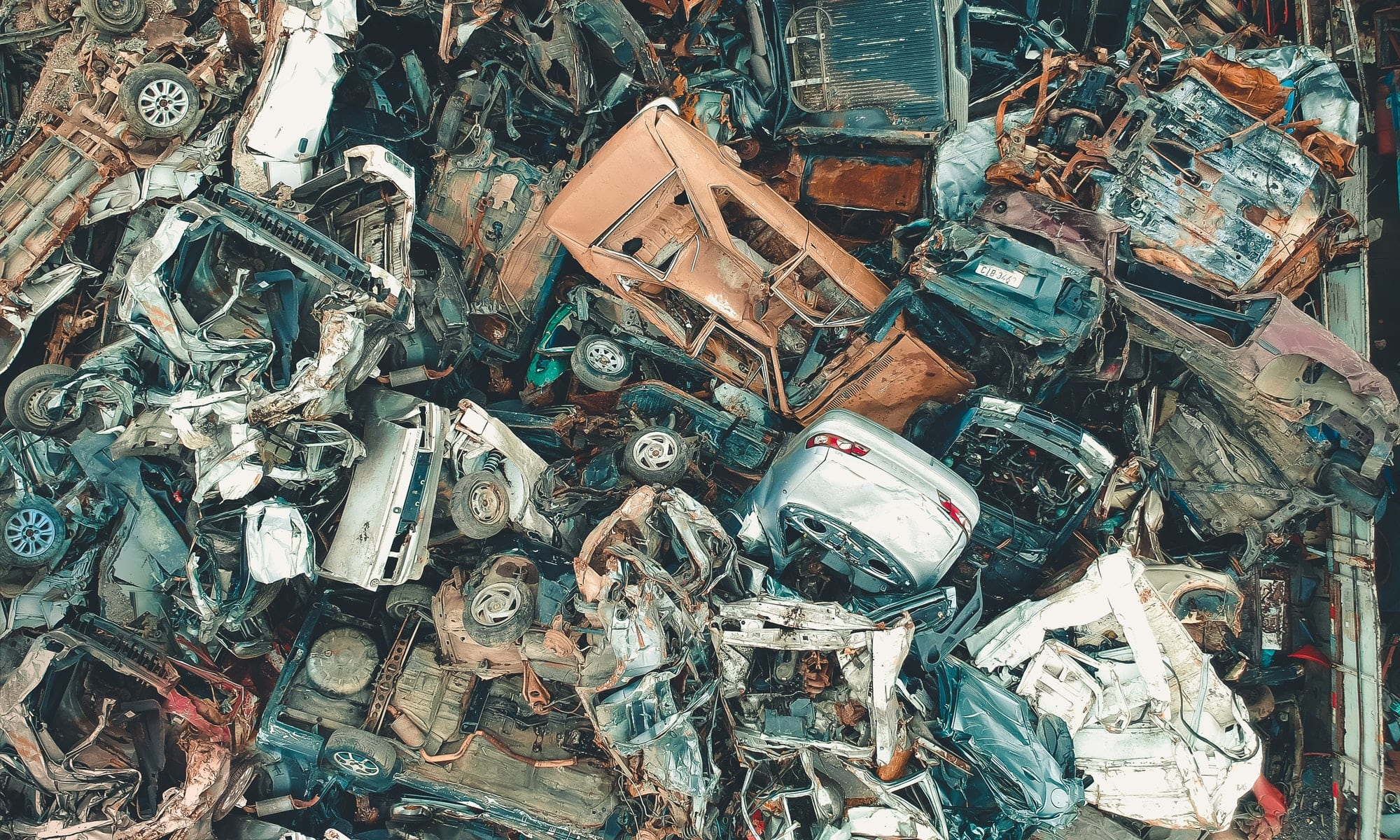 Crushed Cars