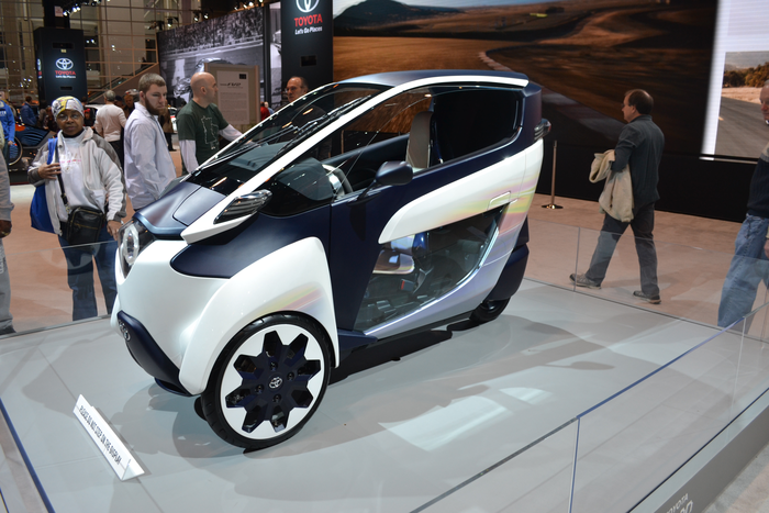 2016 Chicago Auto Show Toyota Iroad Concept Vehicle