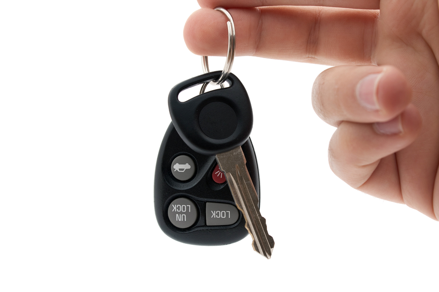 Lightweight Car Keys and Remote
