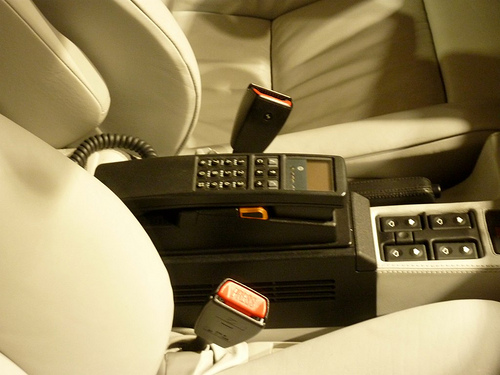 The Car Phone The Coolest Accessory For Your Car In 1995