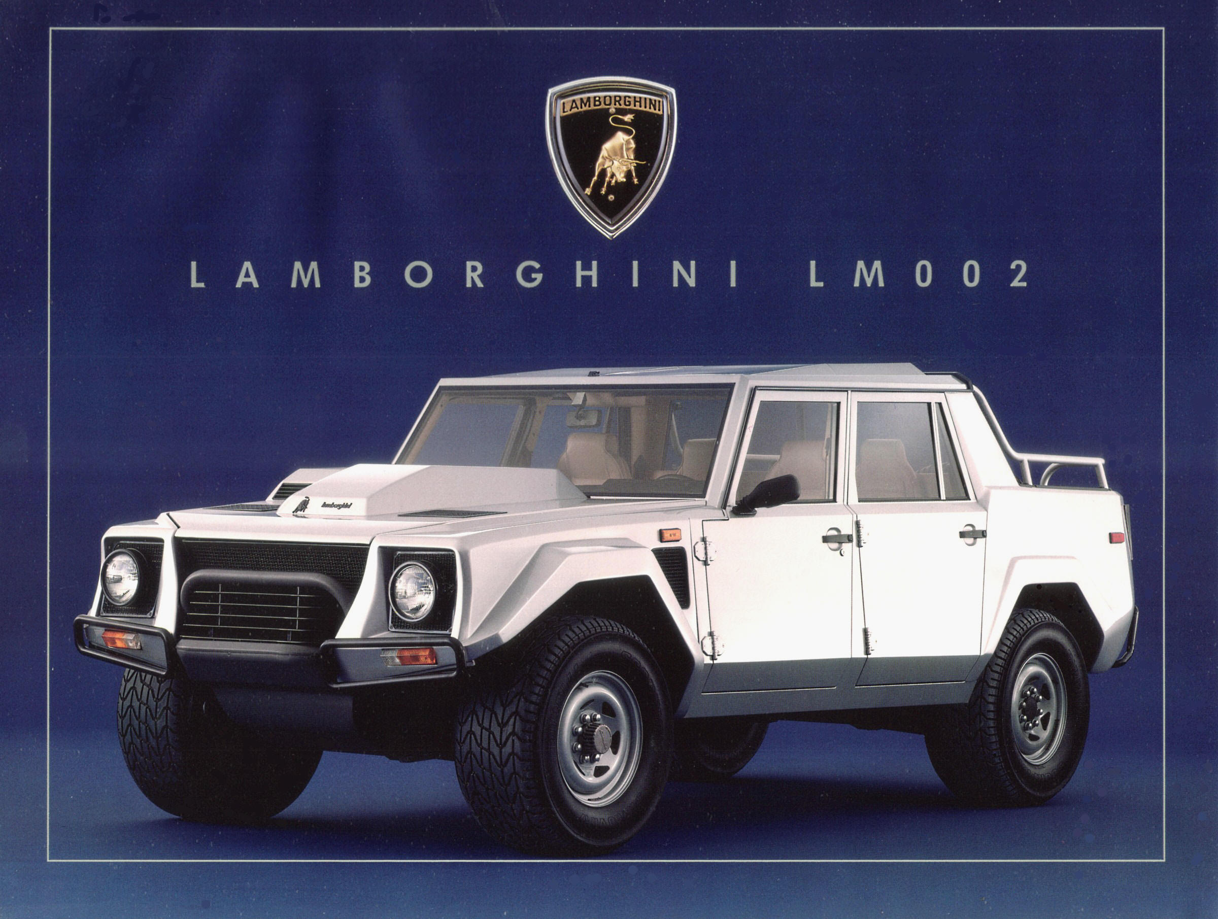 Lamborghini Lm002 A Blockbusting Raging Machine