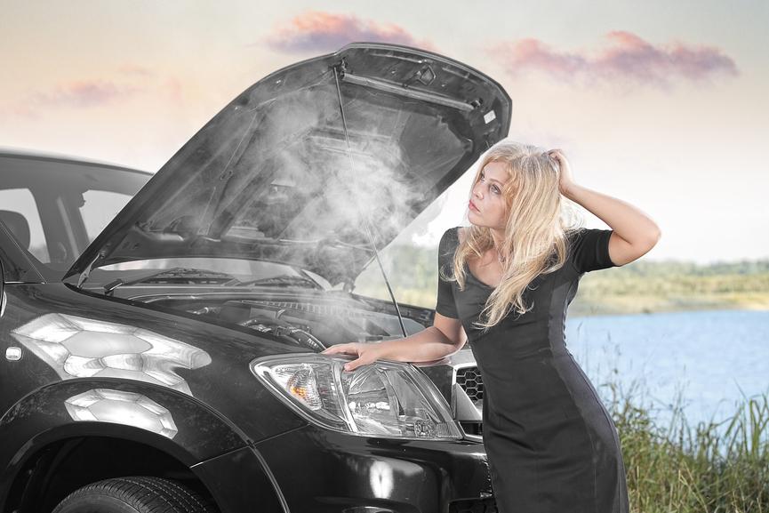 Overheated-Car