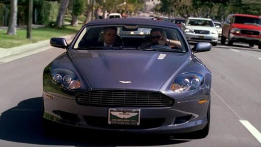 entourage Aston Martin