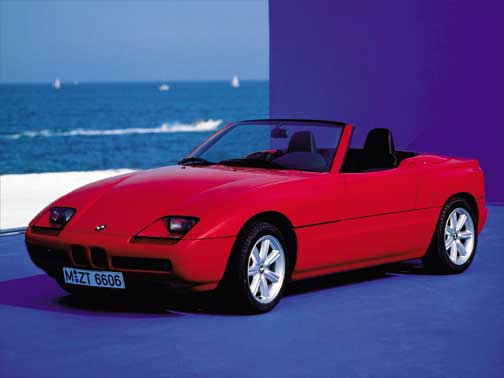 1986 1991 bmw z1 roadster bmw 39 s gateway to the future. Black Bedroom Furniture Sets. Home Design Ideas
