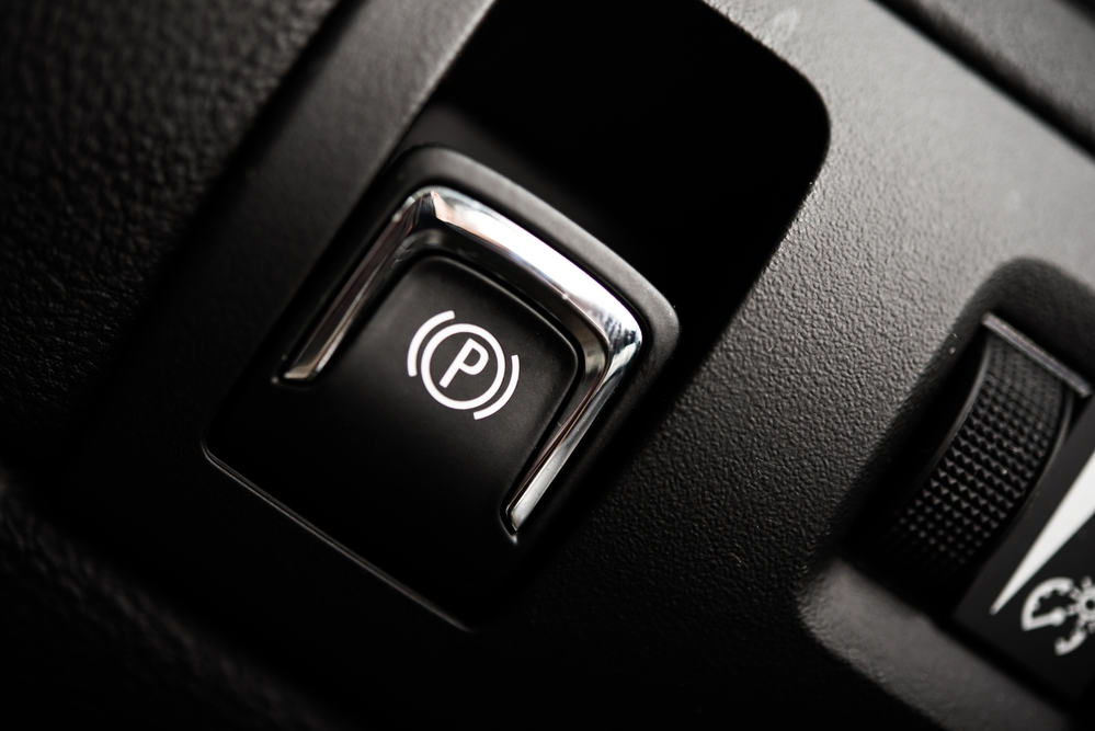 Electronic Brake Button