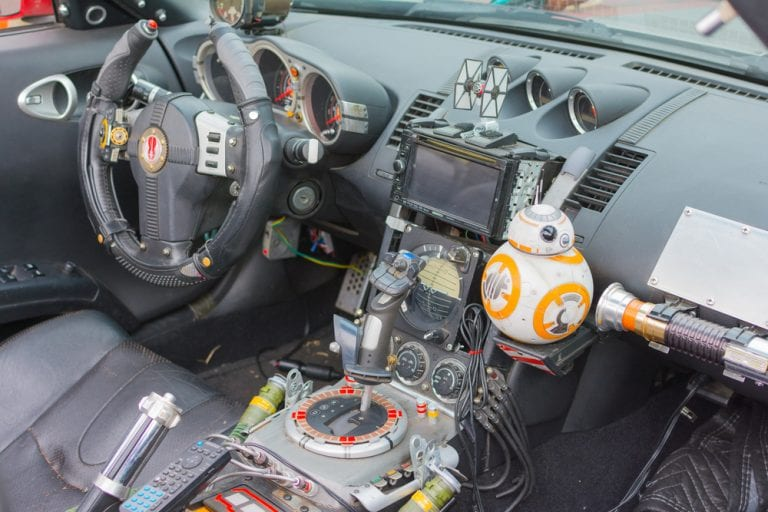 star wars themed cars that are out of this world. Black Bedroom Furniture Sets. Home Design Ideas