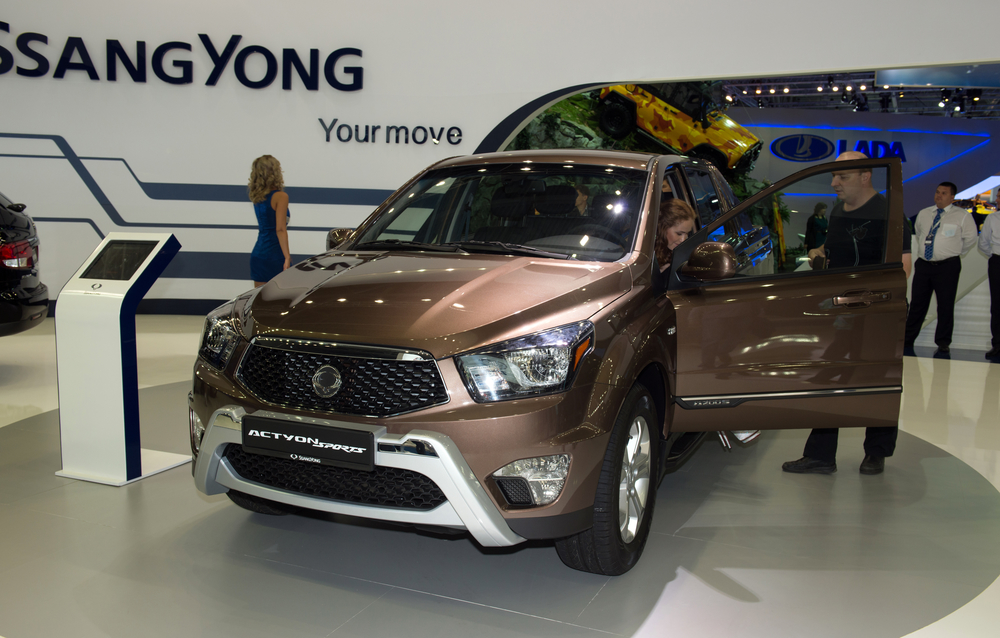 Moscow International Automobile Salon 2012. SsangYong Actyon Sports
