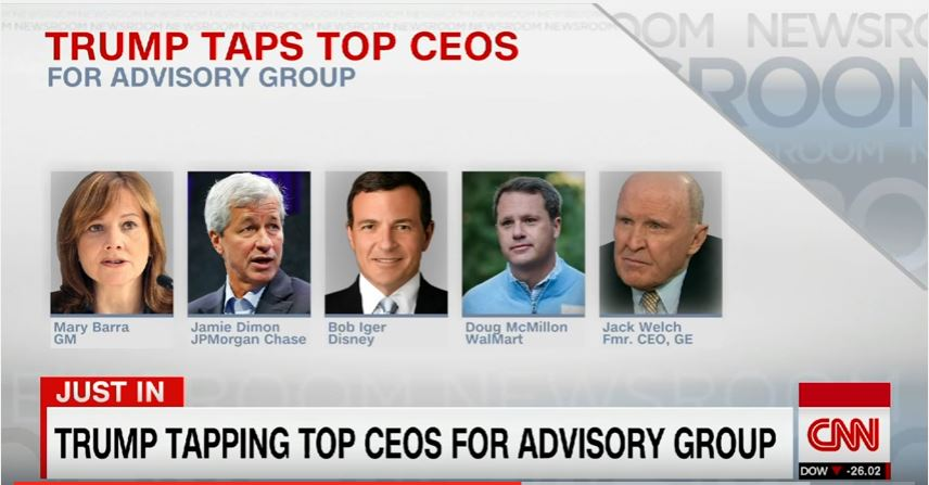 Gm Ceo Mary Barra Picked For New Trump Advisory Group