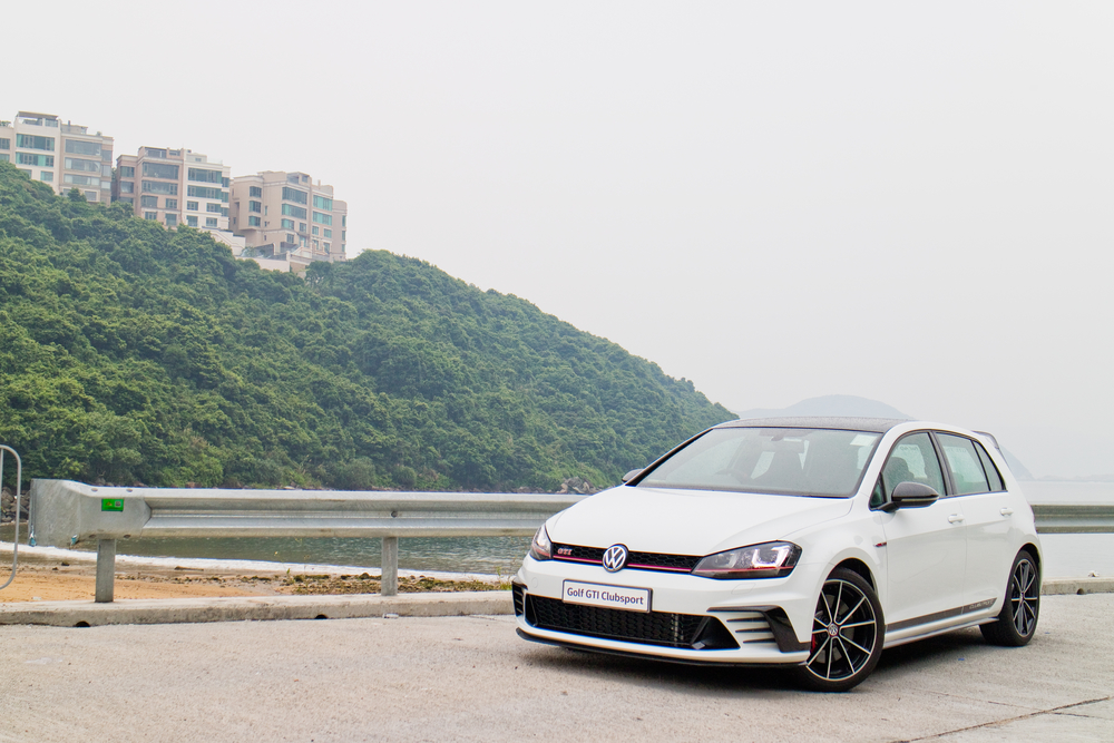 Volkswagen Golf ClubSport 2016 Test Drive Day on Aug 1 2016 in Hong Kong.