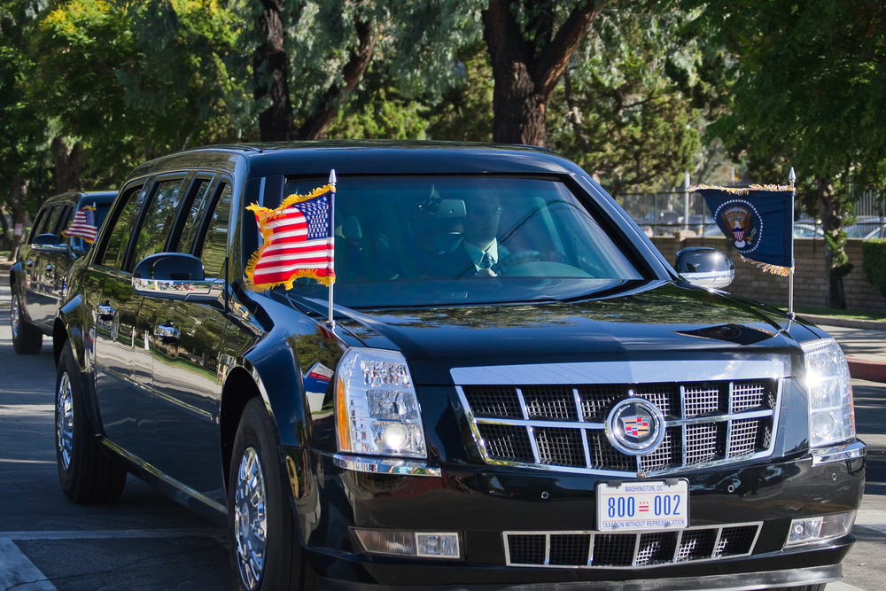 how the presidential motorcade works. Black Bedroom Furniture Sets. Home Design Ideas
