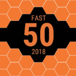 Fast 50 2018 logo
