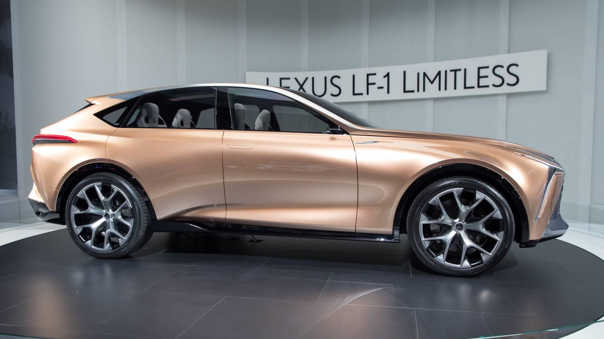 Lexus LF-1 Limitless Concept 2018 Detroit