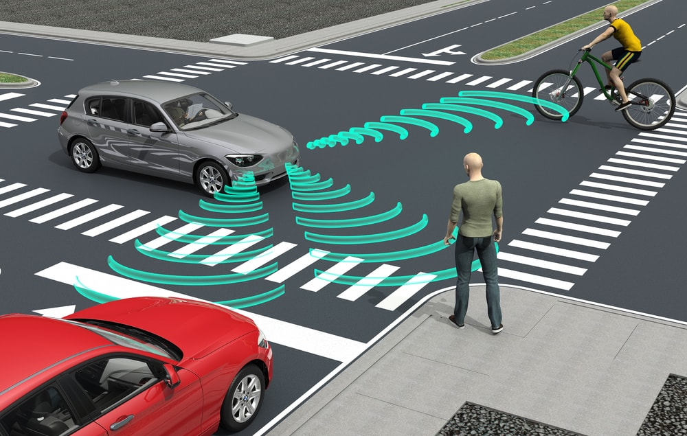 self driving cars road 3d