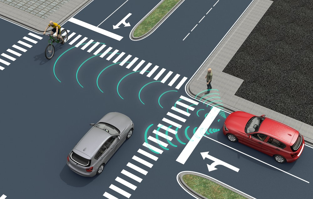 self driving connected cars