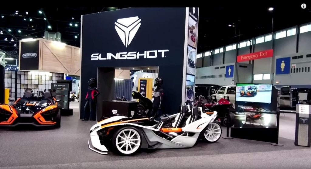 slingshot chicago auto show