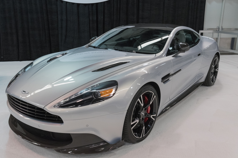 James Bond's Aston Martin Vanquish Is Up For Auction