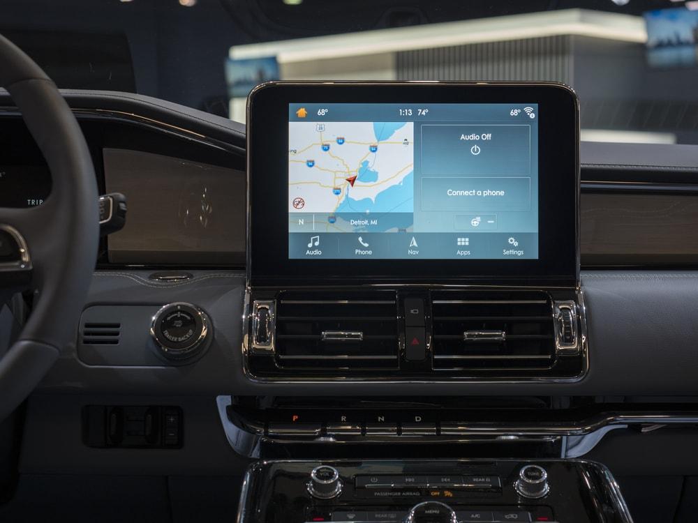 lincoln navigator 2018 interior