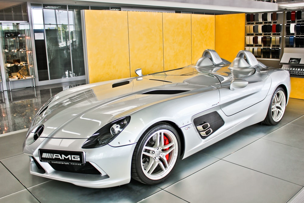 mercedes benz slr mclaren stirling moss amg