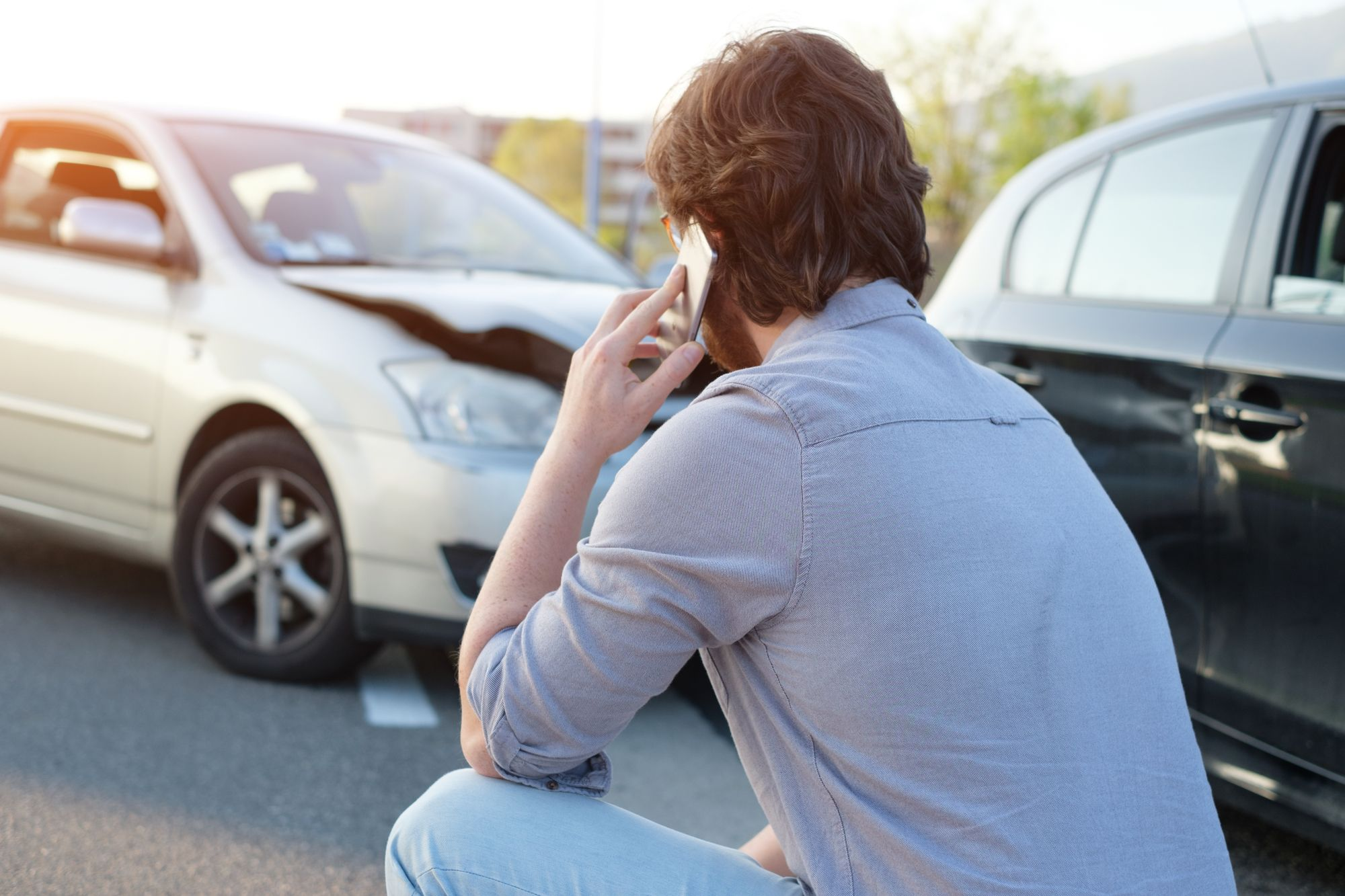 Dealing with a car accident