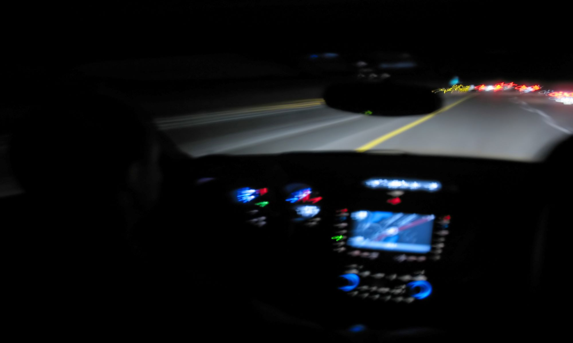 safe driving at night
