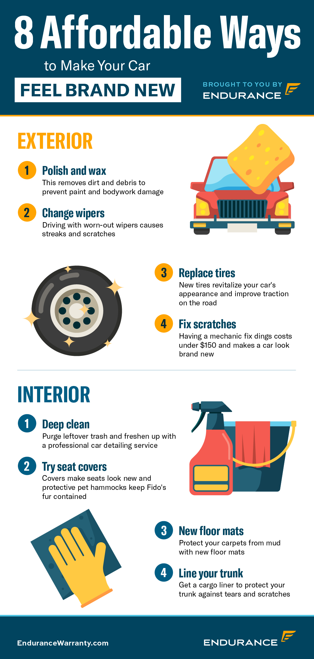 Affordable Ways to Make Your Car Feel Brand New Infographic