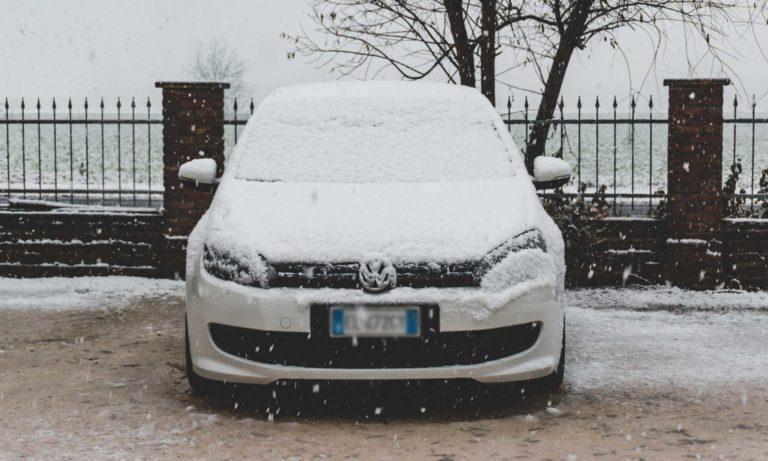 Parking Outside in winter