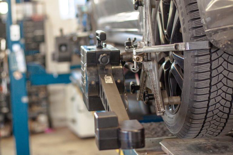 tire alignment check
